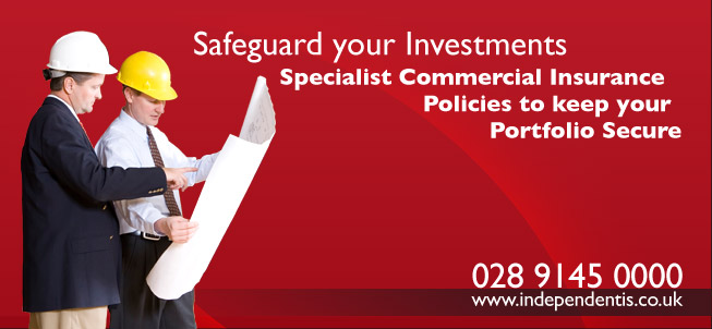 Safeguard your Investments - Specialist Commercial Insurance Policies to keep you Portfolio Secure
